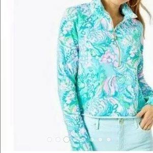 Lilly Pulitzer Jackets & Coats - LILLY PULITZER RONAN CROPPED POPOVER UPF 50 NEW